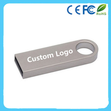 Metal Key USB 2.0 Memory Stick Flash Pen Drive Genuine 8GB custom logo
