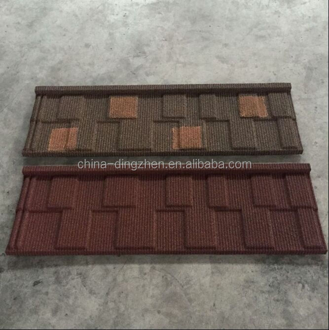 Shingle roofing tiles double color synthetic resin roof tile
