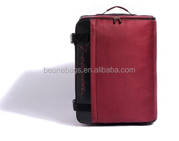 2015 New Foldable Fashion Travel Trolley Luggage Bag