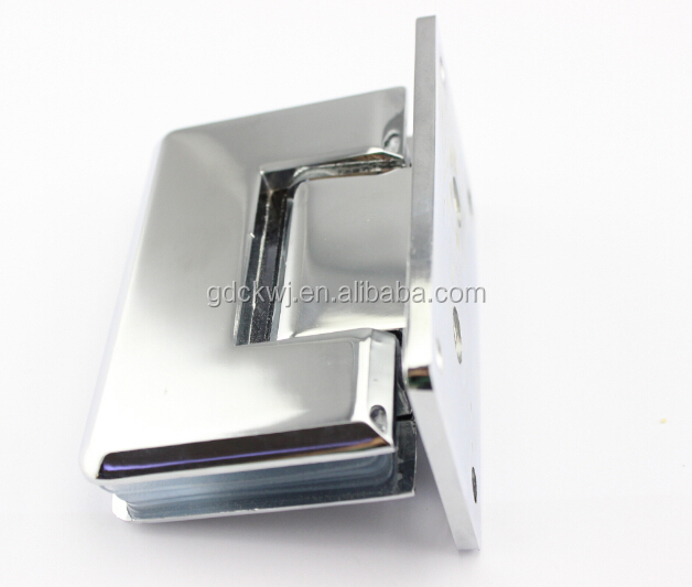 hot sale  professional custom chrome plated shelf bracket glass holder stainless steel glass clamp