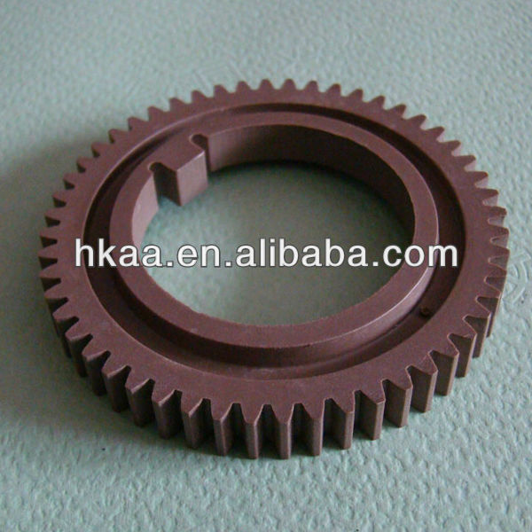 Precision Plastic Injection Molding OEM Upper Fuser Roller Gear For Laser Printer/Copier