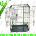 TSA-24 Heavy Duty Metal Dog Cage,Puppy Cage(3 side doors)