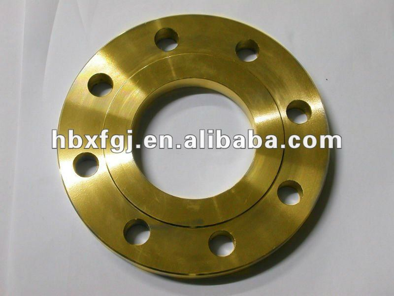 BS4504 forged cs and ss plate flanges