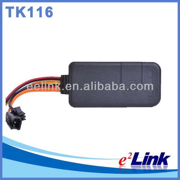 Smallest easy hide gps tracker for car vehicle tracking device TK116