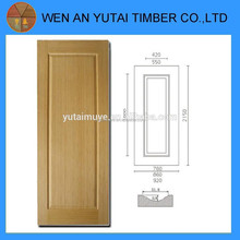 moulded door skin wood plank with design