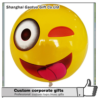 >>>Wholesale colorful inflatable ball,inflatable emoji beach ball//