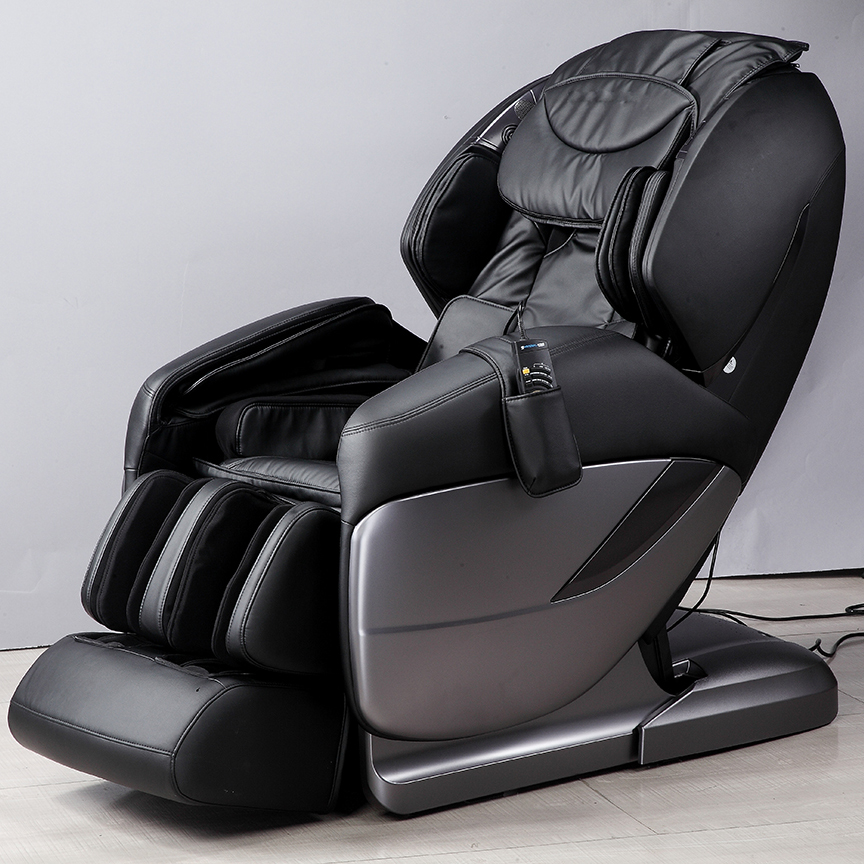 Pink Leather Office Micro-computer Sex Massage Chair