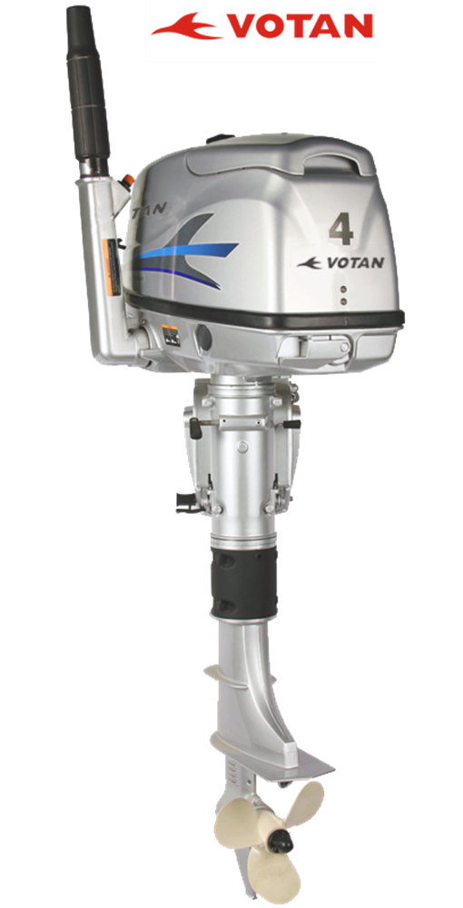 Votan 4 stroke 4hp outboard motor boat motors since2003 for Buy boat motors online