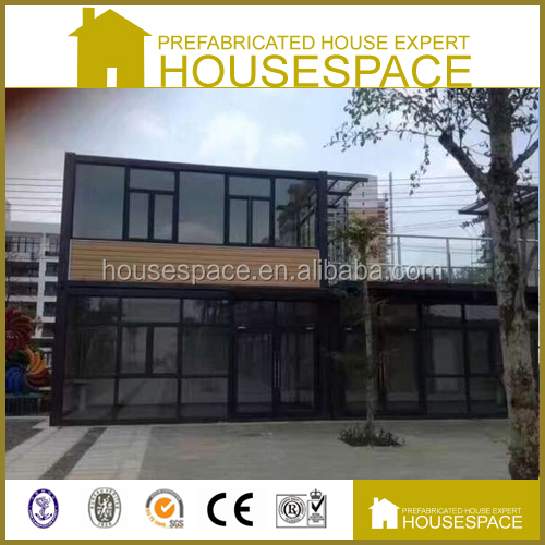 Green Energy Effective EPS Neopor Shipping Container Prefab 2 storey galvanized frame house