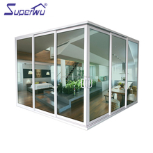 Aluminium Sliding Stacking Glass Sliding Door Comply With Australian Standard AS2047
