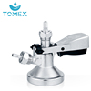 China Leading Company TOMEX Stainless Steel 304 Beer Keg Coupler A D S G Type