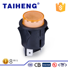 Unique Band types of colorful electrical switches momentary push button switch