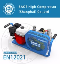Gasoline engine scuba cylinders air compressor for sale