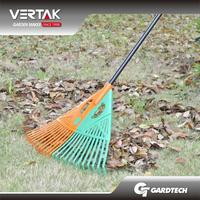 Supermarket DIY supplier cheap garden adjustable leaf rake