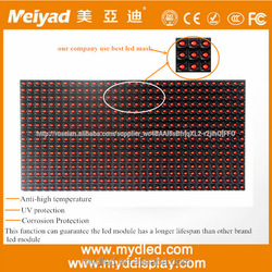 32*16 dots outdoor DIP546 p10 1g led display module video full xxx on with factory price