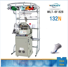 2017 WEKNIT Popular Automatic Sock Knitting Machine