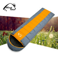 Hiking Travel Cotton Sleeping bags Waterproof Sleeping Bag With Carry bag