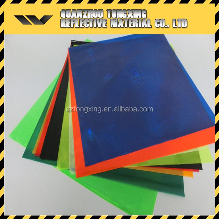Top Hot Selling Sample Free Transparent Reflective Film Plastic Pvc Sheet Rolls