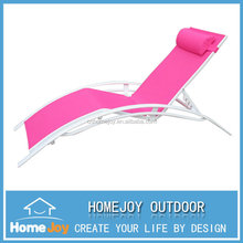 High quality beach lounge chair, garden sun lounger, cheap folding lounge chair