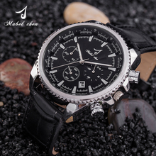 New Design Fancy Gift OEM Watch Luxury Chronographic Watches Fashion Best Wrist Alloy Waterproof Multifunctional Sports Watch