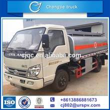 Hot selling Forland 8000 liters 4x2 fuel tanker truck for sale with computor refueling machine