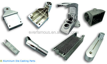 RC motor heat sink, LED aluminum extrusion heat sink, low pressure die casting aluminum
