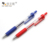 School Stationery Classical Red Blue Black Ink Transparent Cheap Retractable Ball Point Pens