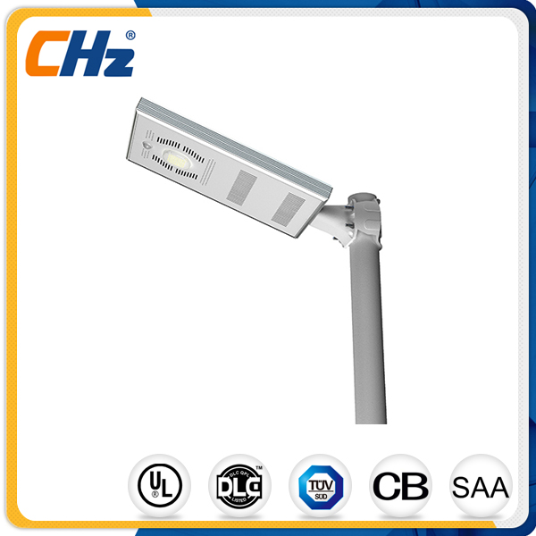 China wholesale integrated solar street light factory price for parks garden