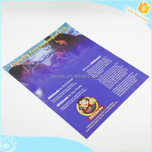 Get 100USD coupon cheap coloring custom leaflet/flyer printing