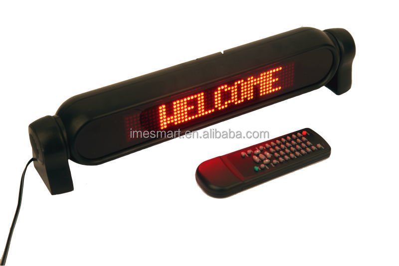 led red light display board