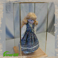 Doll Display Case, Doll Display Shelf, Large Acrylic Display Cube