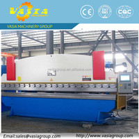 CNC press brake with high precision ball screw and linear guide