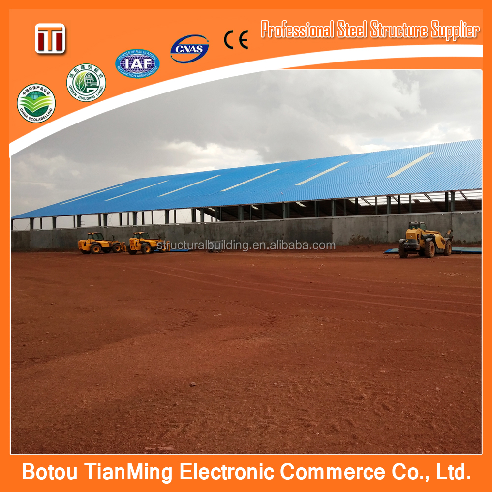 chennai steel building and sandwich panel movable customized warehouse