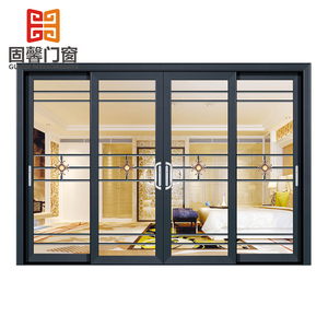Cheap price patio entry aluminum sliding glass doors