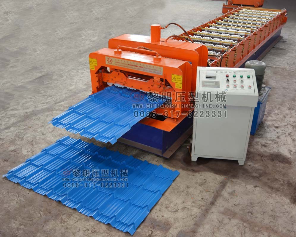 double layer roofing tile roll forming machine metal roofing roll forming machine
