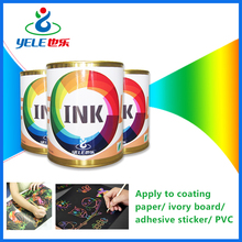 Eco-friendly scratch off ink for scratch drawing