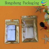 mobile phone case packing bag, plastic ziplock Bag for cell phone case packaging