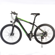 36v 7.8AH 250w Brushless Motor Electric Dirt Bike Bicycle China 2017 New Mountain E-Bike