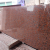 Low price red color granite G562 maple red stones price for countertop