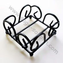 Metal Wire Coaster Rack