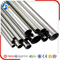 China good supplier welded 201 8K finish stainless steel pipe /tube