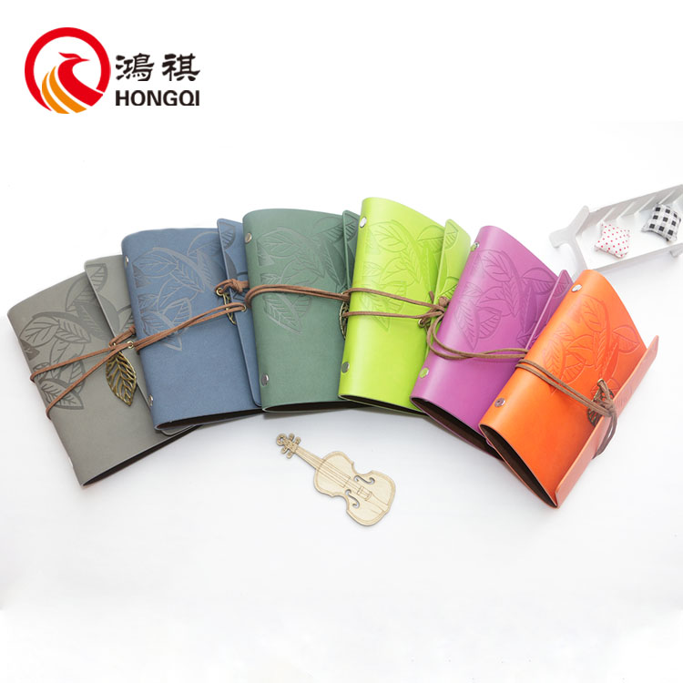 WP001Alibaba genuine leather planner,wholesale pu notebook