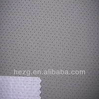 Perforated leather for sofa, car seat.