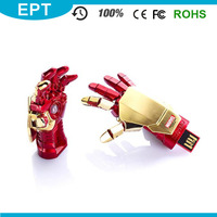 Ironman Shape Branded Bulk Cheap 1TB USB Flash Drive Micro USB