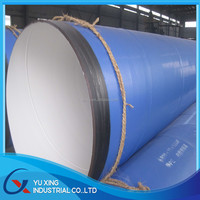 Epoxy coal SSAW anticorrosion steel pipe