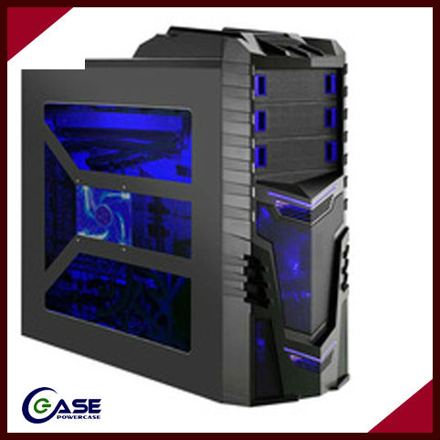 deluxe pc case with led lights/gaming pc case for youngs