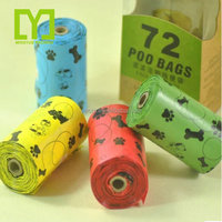 Alibaba Eco-friendly Material Biodegradable Certificate Scented Biodegradable Strong Poop Bag For Dog With Dispenser Poop Bag