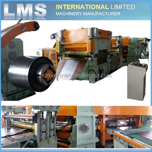 LMS 1500mm steel coil cutting machine cut to length line machine