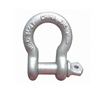 Galvanized Screw Pin US Type Steel Drop Forged Bow Shackle