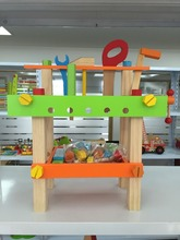 2017 design small work bench toy for kid educational